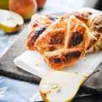 Easy Pear-Almond Danish Recipe