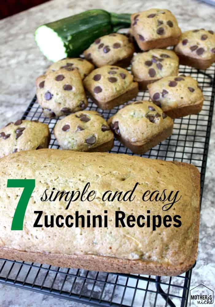 7 Zucchini Recipes for Your Ever-Growing Garden Zucchini