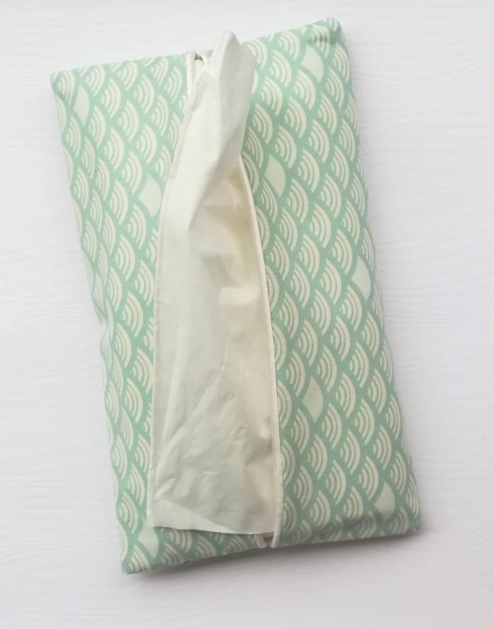 Distributeur de mouchoirs en tissu