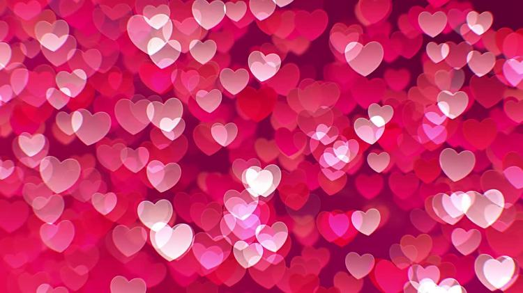 Falling Water Hd Wallpaper Floating Hearts Background Motion Graphics Motion Array