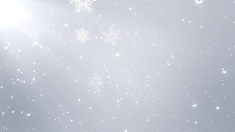 Free Snow Falling Wallpaper White Christmas Background Stock Motion Graphics