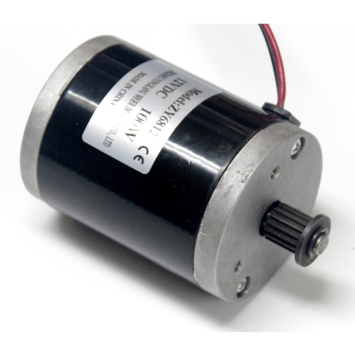 12v 100w Dc 12v 100w 2750 Rpm Electric Motor Belt Drive Motor