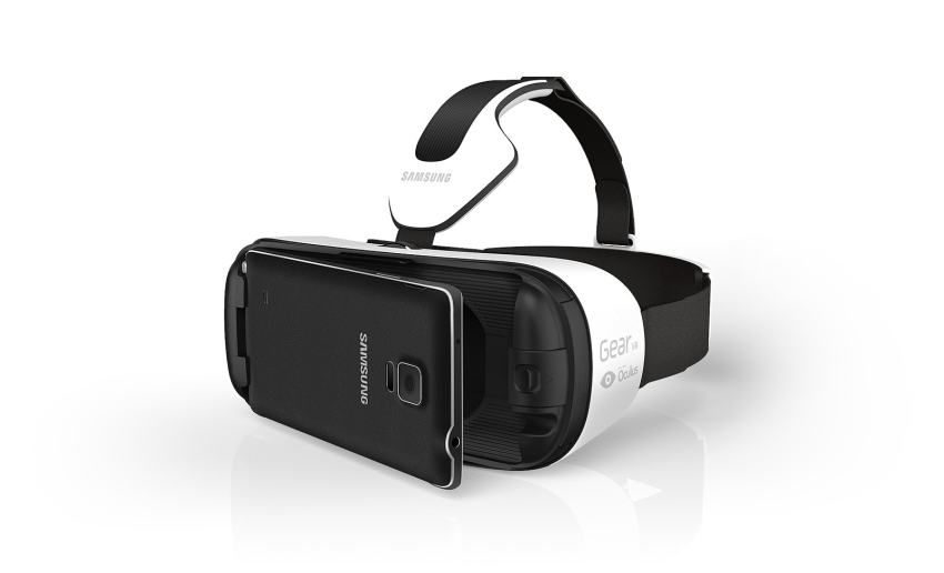 The Samsung Gear VR uses a Galaxy Note 4 as the display, processor and input system