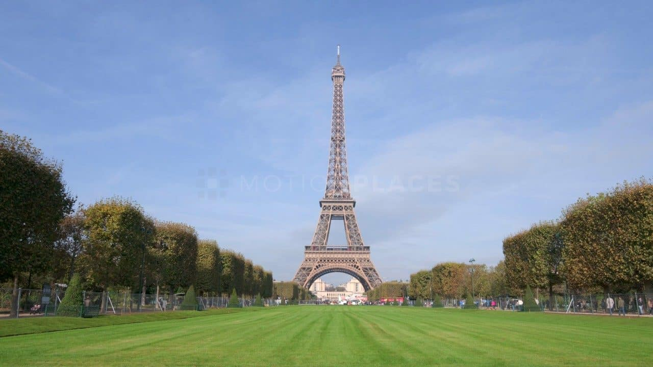 Photo Stock Paris Landmark Free Stock Video Footage By Motion Places