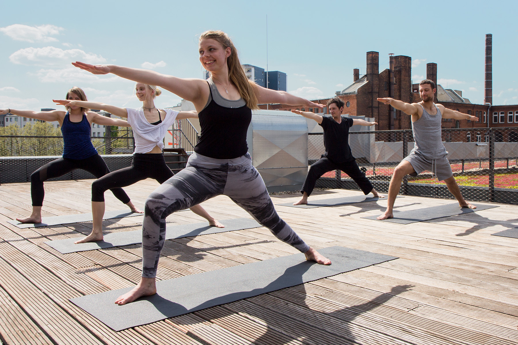 Yoga Dachterrasse Berlin Hip Hop Yoga Open Level Bei Natalia Zieleniecki Motion S