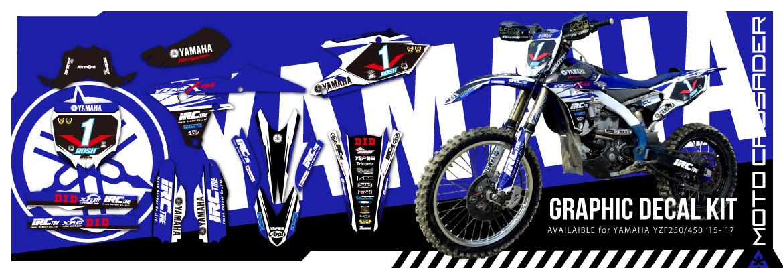 YAMAHA(ヤマハ) YZ250FX  グラフィックデカールデザイン
