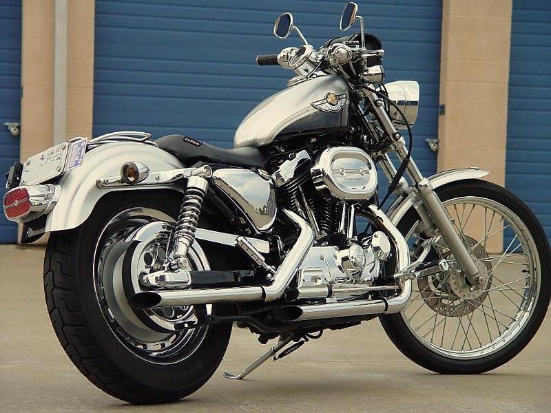 2000 Harley-Davidson XLH Sportster 883 Standard - MotoZombDriveCOM
