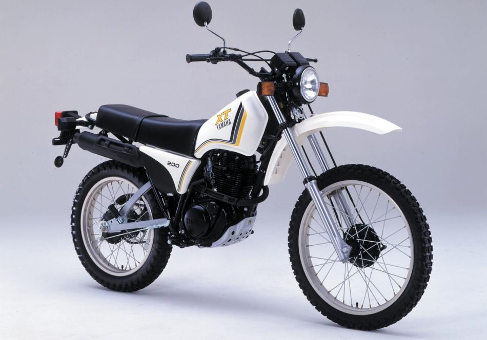 1980 Yamaha AG 200 - MotoZombDriveCOM