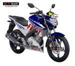 Modifikasi Striping New Vixion Terbaru Style FIAT Yamaha Racing