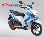Modif Warna Baru Yamaha Xeon GT Eagle Eyes MOTOBLAST