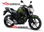 Modif Striping Yamaha Byson Black Monster MOTOBLAST