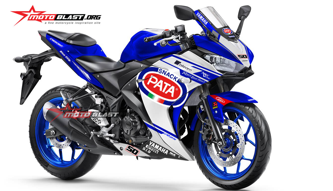 Graphic Kit Decal Stiker Yamaha R25 livery WSBK PATA All Varian Color