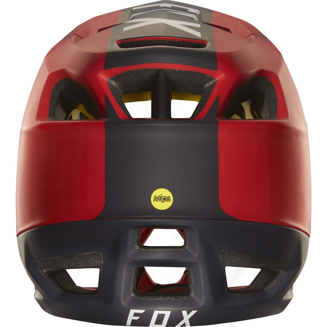 Red Libra Casque Fox Proframe Libra Red Black Motocard