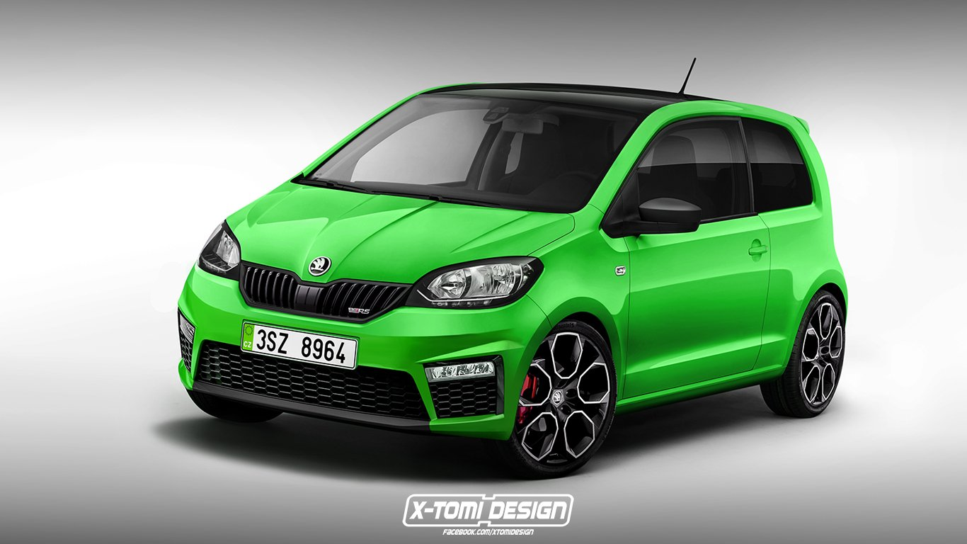S4 Wallpaper Hd 2017 Skoda Citigo Rs Rendering Motofilm