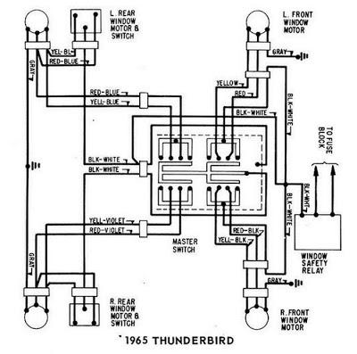 1965 Ford Thunderbird Alternator Wiring Diagram - image details