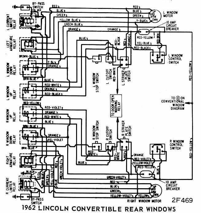 1962 thunderbird wiring diagram
