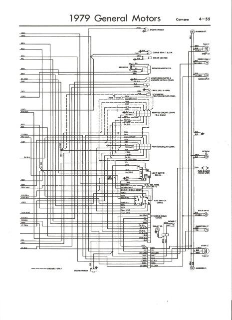 1979 Camaro Wiring Harness Wiring Diagram