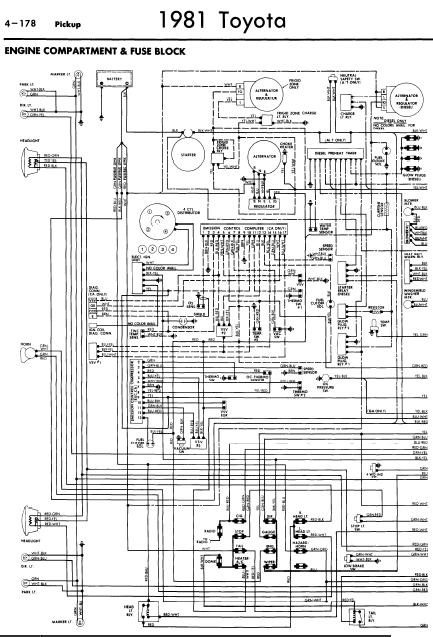 1983 Toyota Pickup Fuse Box Wiring Diagram