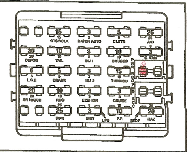 1986 Corvette Fuse Box Wiring Diagram