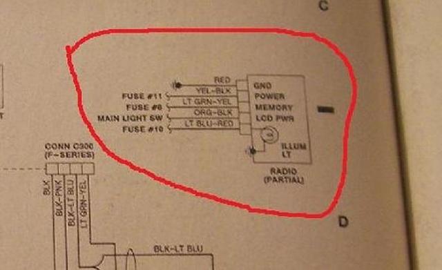 1991 250 F Ford Radio Wiring Wiring Diagram