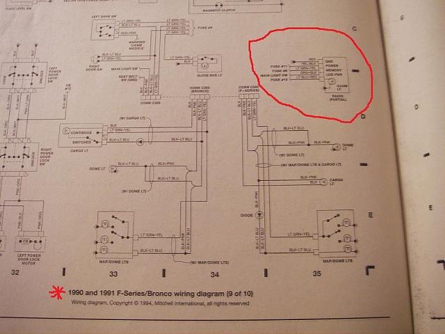 150 1991 F Radio Wiring car block wiring diagram