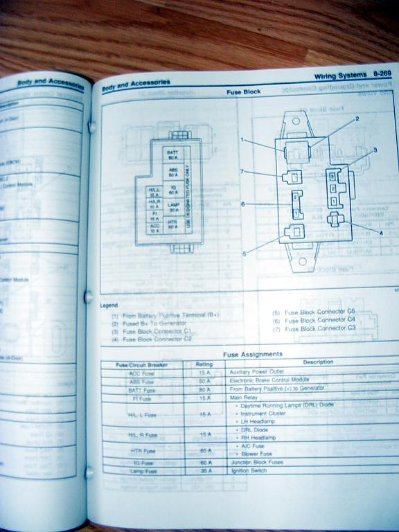 2001 Tracker Fuse Diagram Wiring Diagram