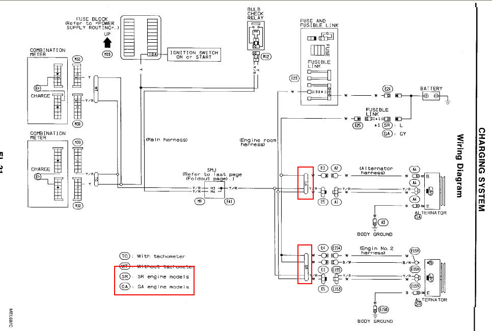 Nissan Murano Wiring Diagram Nissan Alternator Wiring Diagram Photo