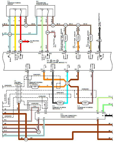 Wiring Diagrams Toyota Electronic Schematics collections
