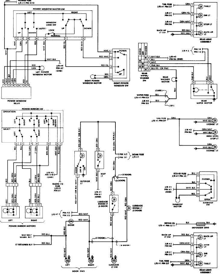 1986 toyota corolla and wiring diagram