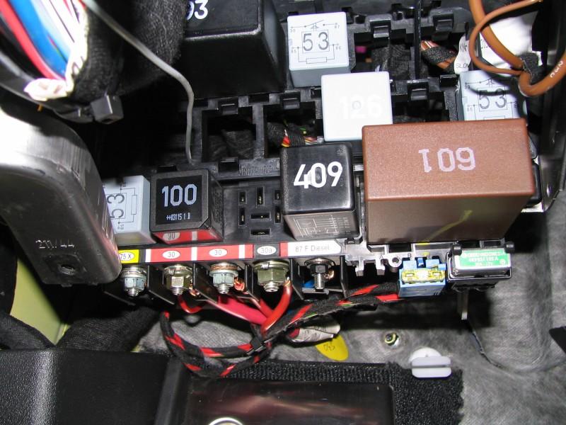 Audi A4 Fuse Box Location - image details