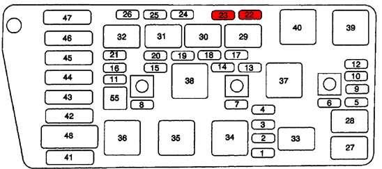 2007 fj cruiser fuse box diagram