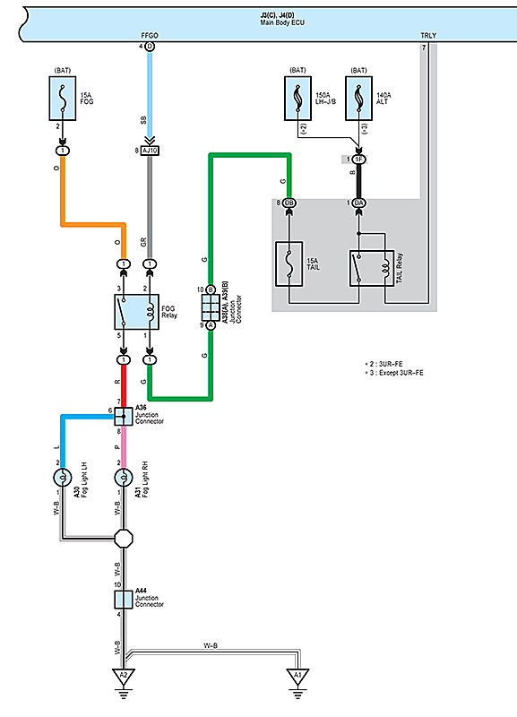 2001 Toyota Tacoma Tail Light Wiring Diagram - Wwwcaseistore \u2022