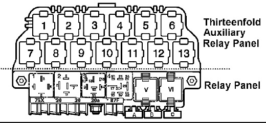 99 Vw Jetta Relay Diagram car block wiring diagram