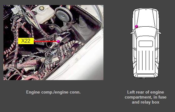 2000 Mercedes ML320 Fuse Box Diagram - image details