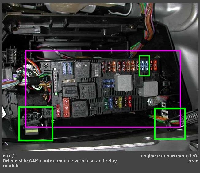 1995 Mercedes E320 Fuse Box Diagram - image details