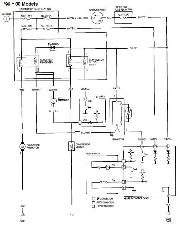 99 Honda Civic Wire Diagram Wiring Diagram