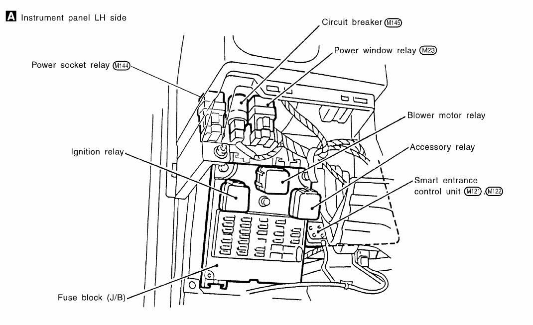 2012 nissan altima fuse box diagram