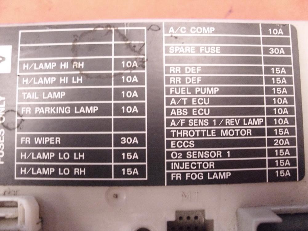 infiniti q45 fuse box location infiniti q interior bulb the ignition