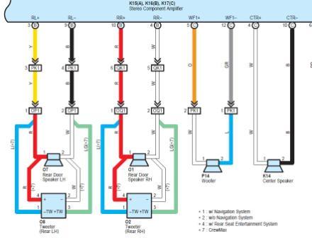 2004 Toyota Stereo Wiring Diagram Wiring Schematic Diagram