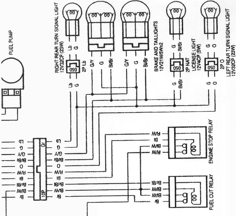1990 chevy silverado brake light wiring diagram