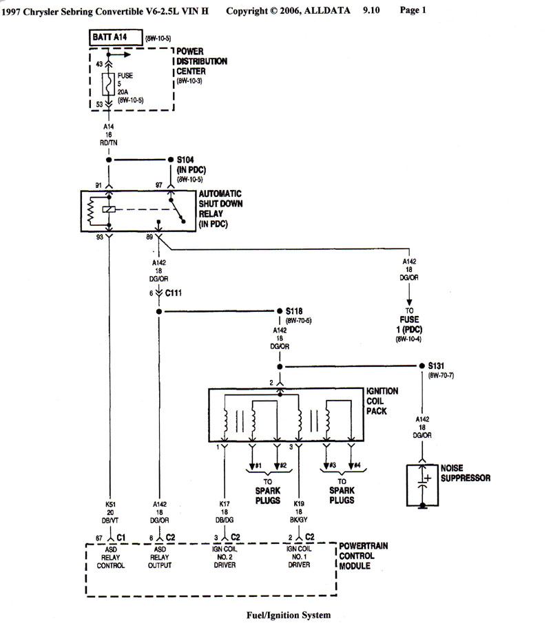 Wiring Diagram For 98 Chrysler Town And Country Online Wiring Diagram