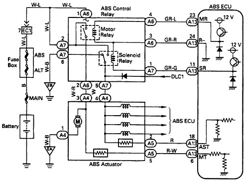 Control Relay Wiring Diagram - image details