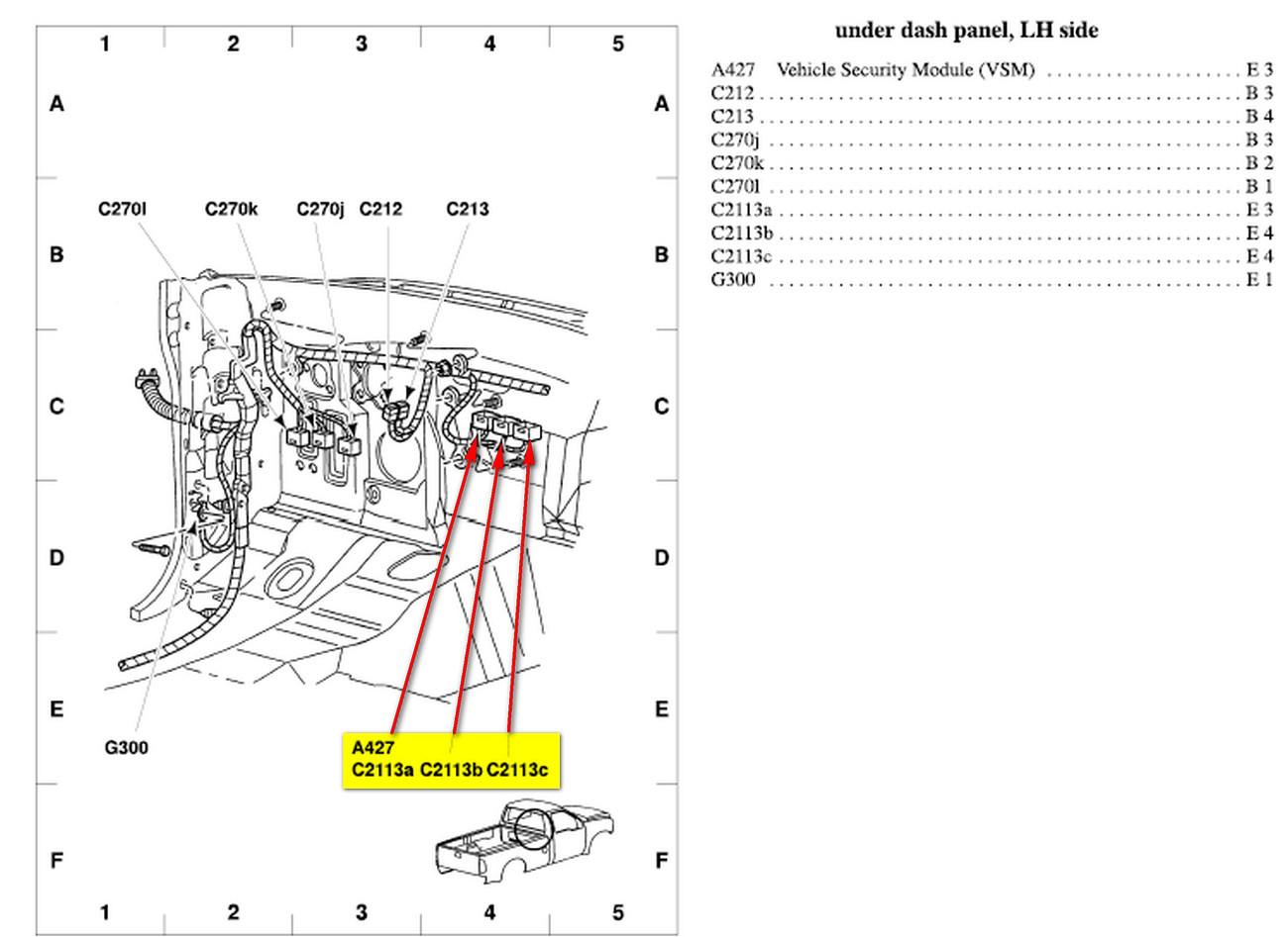 2014 f350 super duty fuse diagram