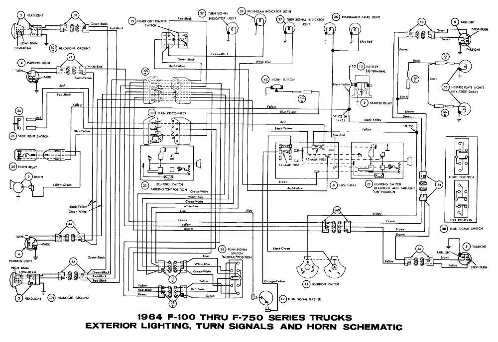 1970 F100 Ford Truck Wiring Diagrams Wiring Schematic Diagram