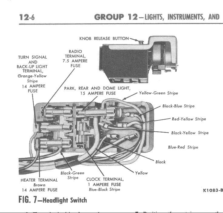 1964 Mercury Wiring Diagram circuit diagram template