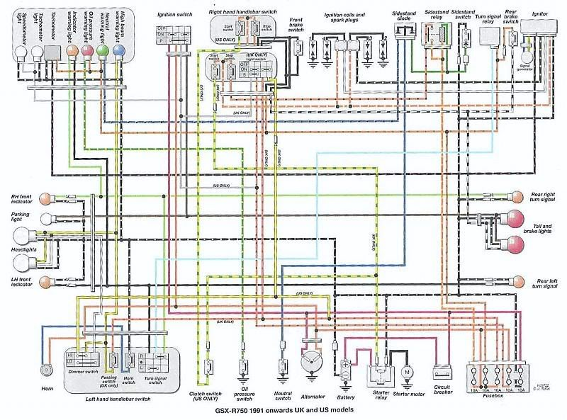 Wiring Diagram For 2005 Gsxr 600 Wiring Schematic Diagram