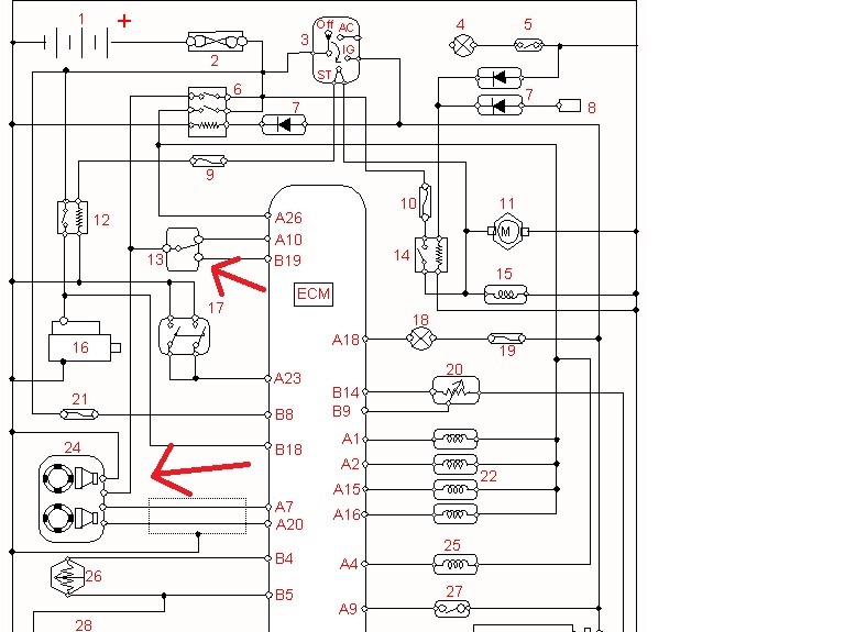 1996 isuzu rodeo radio wiring diagram