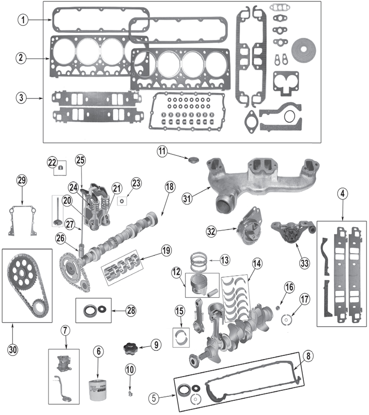 Jeep Engine Parts Diagram Index listing of wiring diagrams