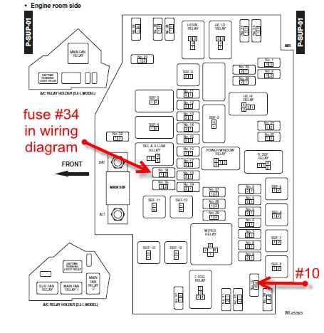 2001 Subaru Forester Fuse Diagram Index listing of wiring diagrams