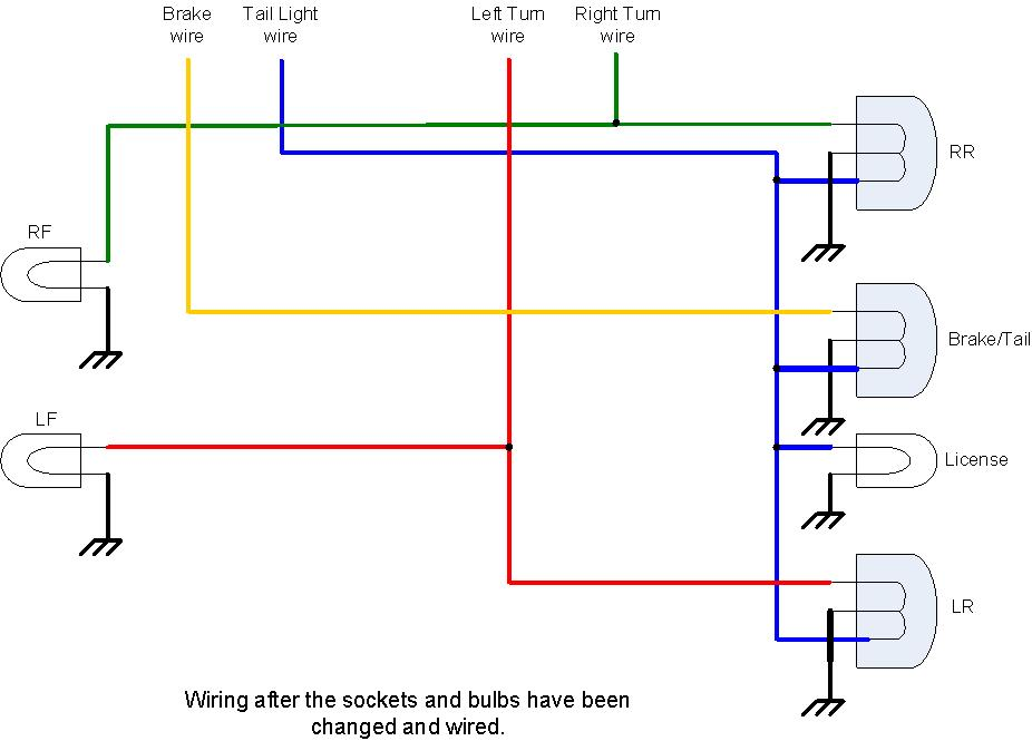 Rear Lights Wiring Diagram - Wiring Diagrams Schema